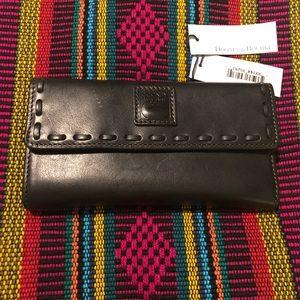 Dooney & Bourke Florentine Leather Clutch NWT